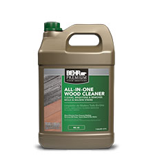 Jug of Behr Premium All in One Wood Cleaner