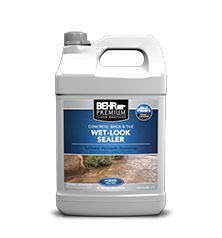Jug of Behr Premium Wet Look Sealer