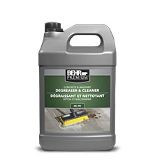 Jug of Behr Premium degreaser and cleaner