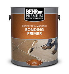 Can of Behr Premium Bonding Primer