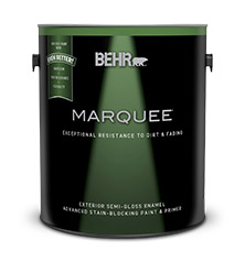 Can of Behr Marquee paint