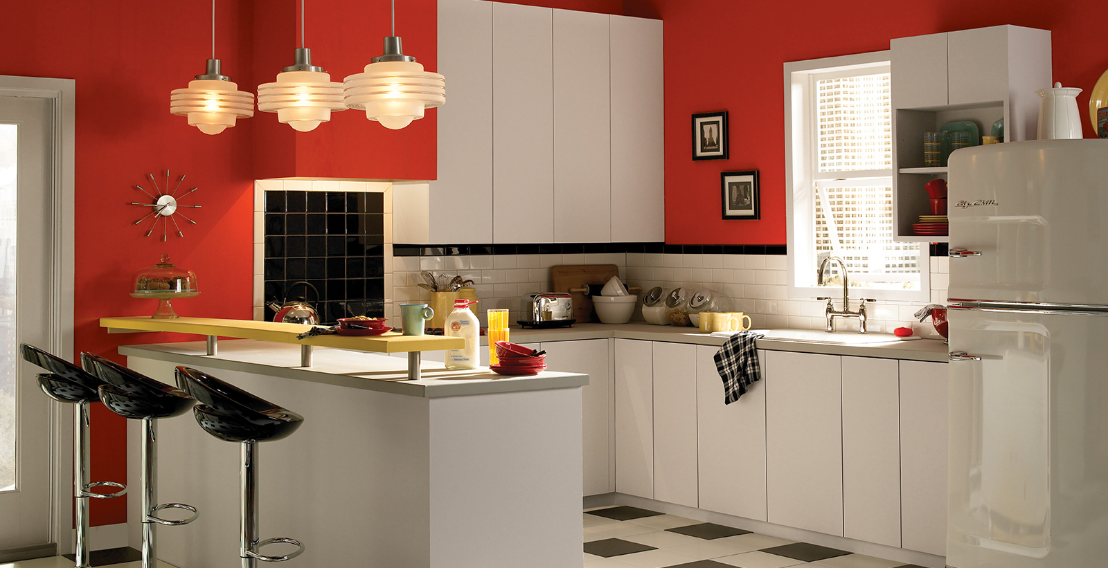 Red Kitchen Ideas And Inspiration Behr Canada