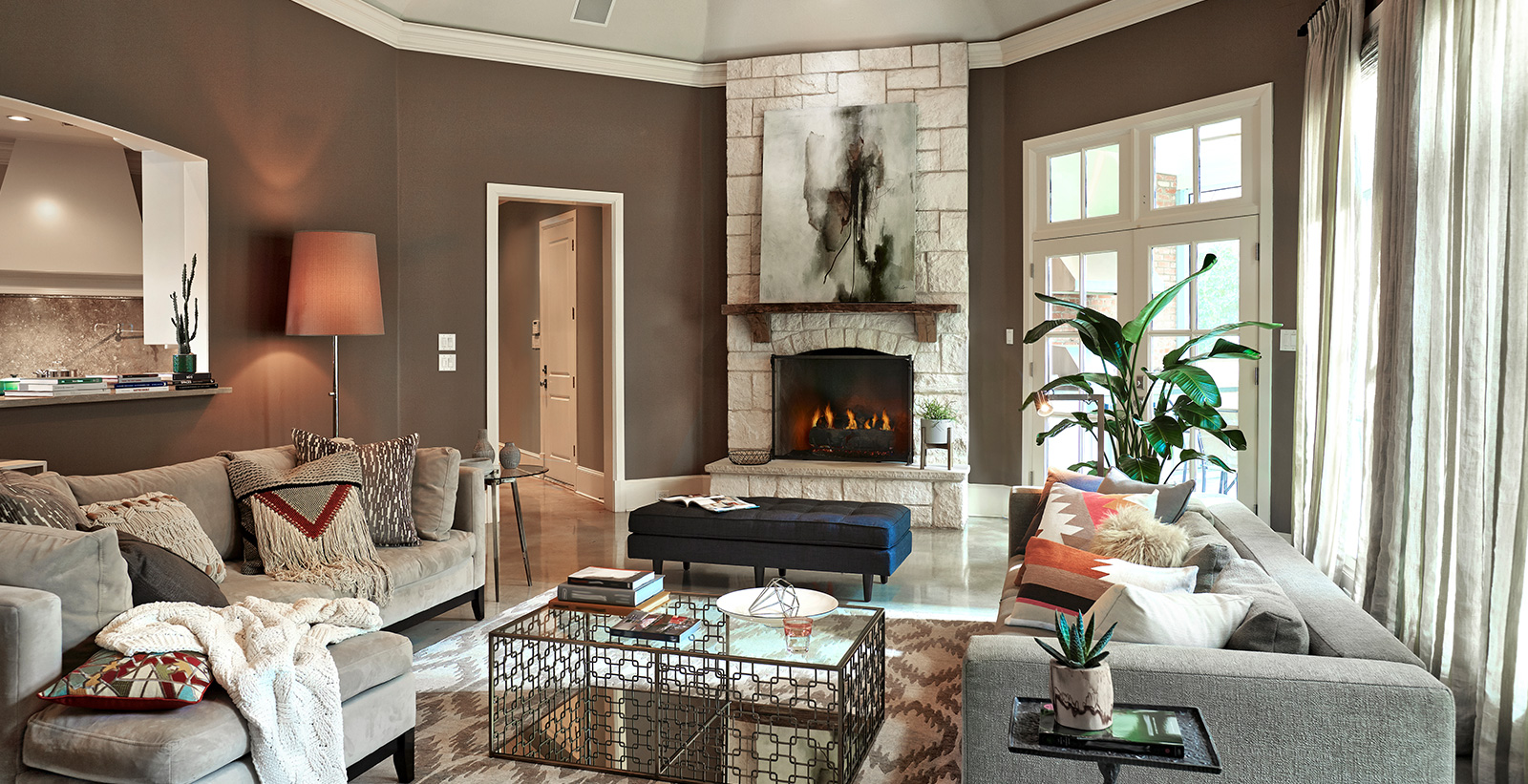Brown Living Room Ideas And Inspiration Behr Canada