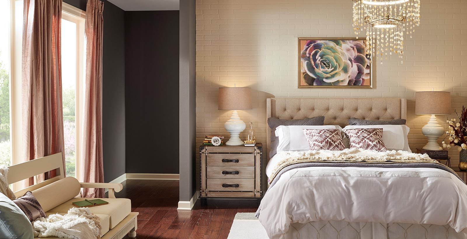 Rustic Chic Bedroom Classic Bedroom Gallery Behr Canada