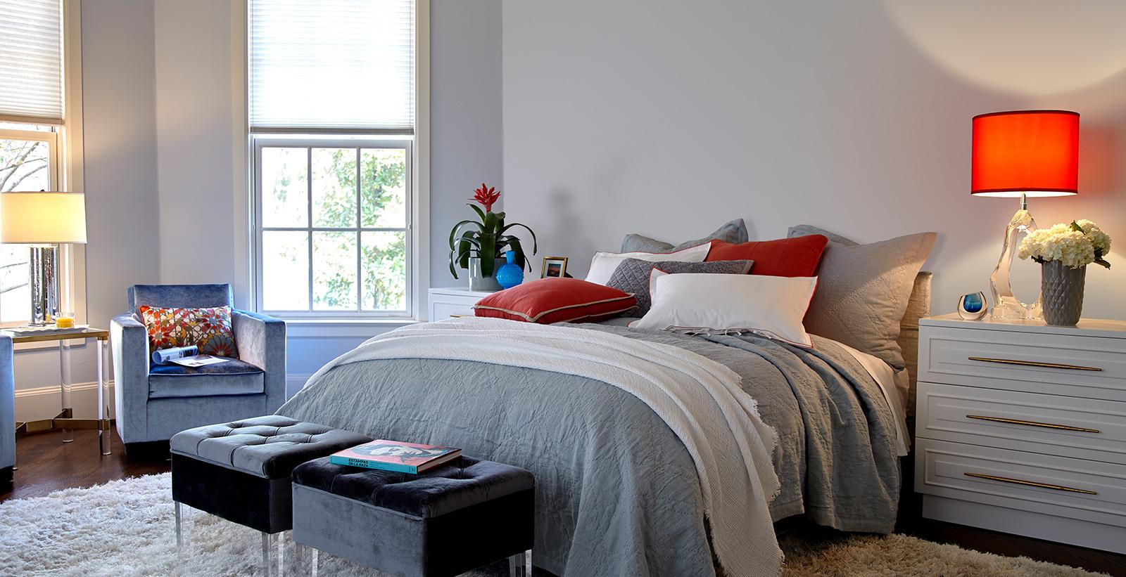 Greyed Out Bedroom Grey Bedroom Gallery Behr Canada