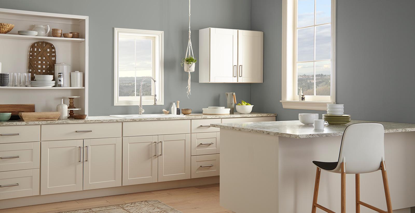 Blue Grey Kitchen Gallery Behr Canada