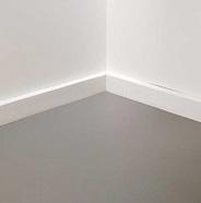 Completed floor.
