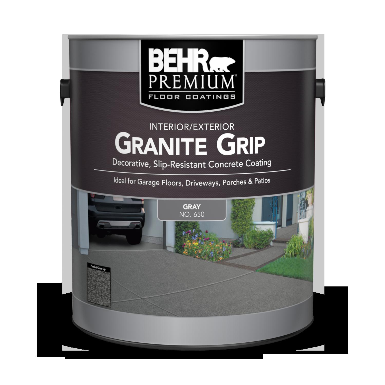 Granite Grip Concrete Paint Coating Behr Premium Behr Canada