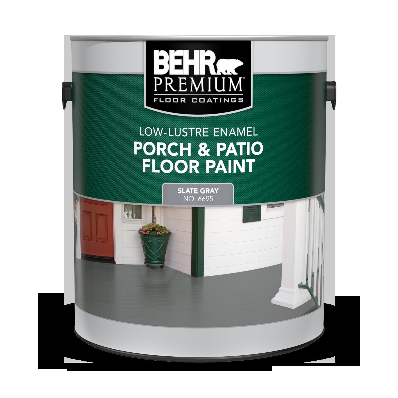 Porch Patio Floor Paint Low Lustre Enamel Behr Premium Behr Canada