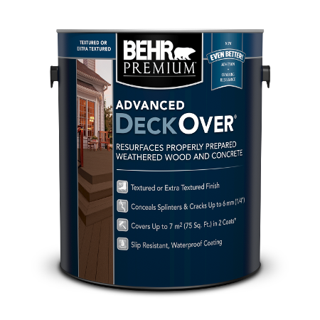 Textured Advanced Deckover 174 Waterproofing Finish For Wood And Concrete Behr