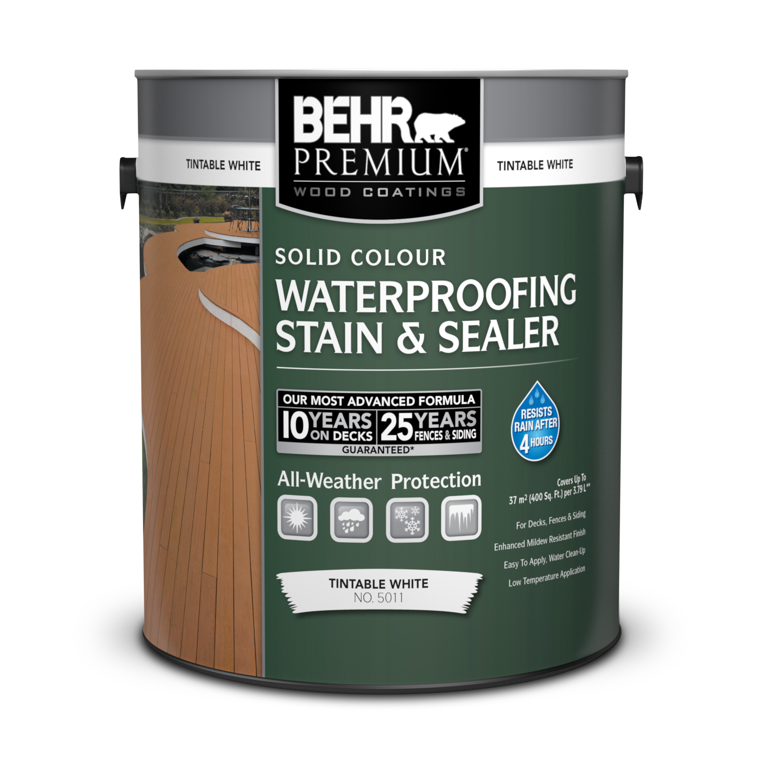 Picture of: Solid Colour Waterproofing Wood Stain Sealer Behr Premium Behr Canada