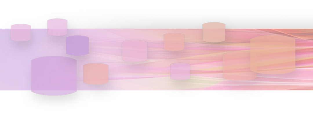 Pink and purple colored brush strokes