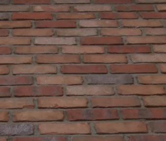 Gros plan d'un plancher en brique